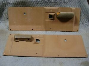 Door Panels 1968 1969 1970 1971 Dodge Power Wagon Sweptline Truck