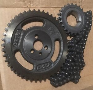 Chevy Sbc Small Block 283 327 305 Etc Double Roller Timing Chain