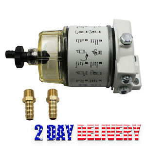 Fuel Filter Water Separator 120at Fits R12t Boat Marine Spin On New