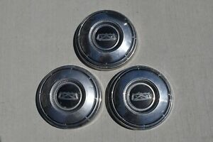 3 Vintage 1968 To 1974 Ford Truck Dog Dish Hubcaps