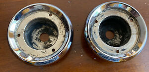 1950 s Taillight Bezels Gm Chevy Pontiac Buick Olds Ford Chrysler Dodge Plymouth