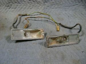 Parking Lights 1968 1969 Dodge Power Wagon Sweptline Truck