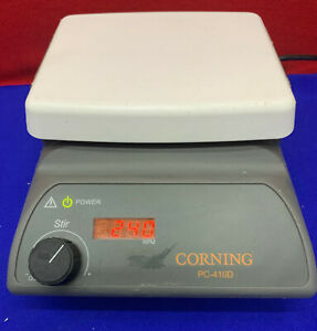 Corning Pc 410d 6795 410d Laboratory Magnetic Stirrer