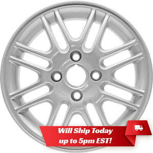 New 15 All Silver Painted Alloy Wheel Rim For 2000 2011 Ford Focus 3367