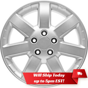 New Set 4 17 Replacement Alloy Wheels And Centers For 2007 2011 Honda Crv Cr V