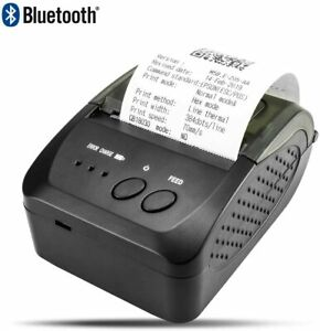 Bluetooth Thermal Receipt Printer 58mm Portable Mini Usb Compatible With Android