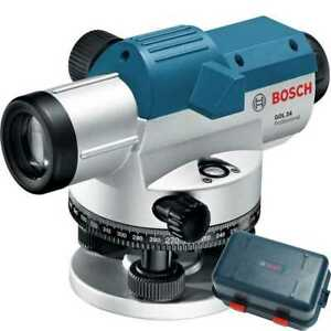 Bosch Gol24 Automatic Optical Level W 24x Magnification Power Lens New