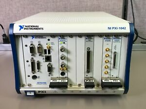 National Instruments Ni Pxi 1042 With Pxi 8186 Pxi 5122 Pxi 2590 Pxi 6251 2503