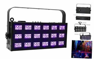 Oppsk Black Light For Home Party 54w 6x3 Uv Led Bar 395 405nm 7ch Dmx Control