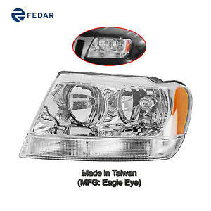 Headlight Lamp Fit Jeep Grand Cherokee 1999 2004 Limited 02 04 Overland Left