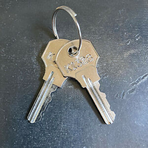2 Kennedy Tool Box Replacement Keys From Key Code K1200 K1449 free Tracking
