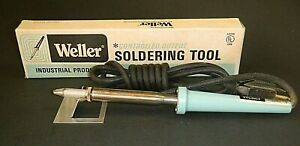 Vintage Weller W100 Soldering Iron Controlled Output Industrial 100w 120v 3 Wire