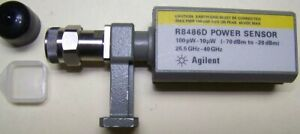 Fully Functional Agilent R8486d Waveguide Power Sensor 26 40ghz 70 To 20dbm