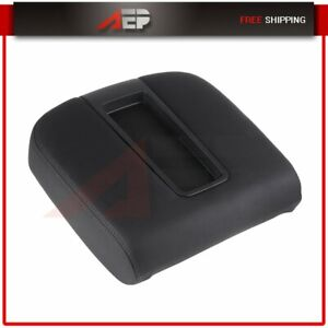 New Black Center Console Armrest Lid Cover For Cadillac Chevy Gmc Pickup Truck