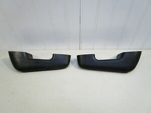 New 1959 Ford Fairlane 1960 1964 Falcon Black Door Arm Rests pair