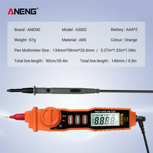 Aneng A3002 Multi function Digital Multimeter Pen Type Dc Ac Voltage Tester Tool