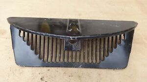 1937 Ford Truck Lower Inside Grille Pan Apron Original Pickup Panel