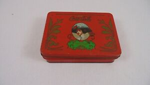 Vintage Antique Coca Cola Playing Cards Tin Box