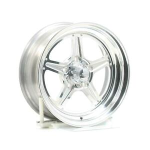 Billet Specialties Street Lite Polished Wheel 15 X6 5x4 5 Bc