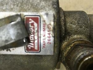 Mallory Dual Point Tach Drive Distributor Vintage Chevy