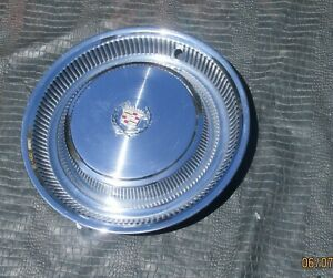 68 78 Cadillac Deville Fleetwood Calais Hubcap Wheel Cover Wreath Nos