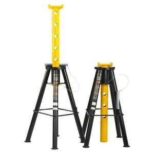 Omega 10 Ton Pin Style Jack Stands Model 32107