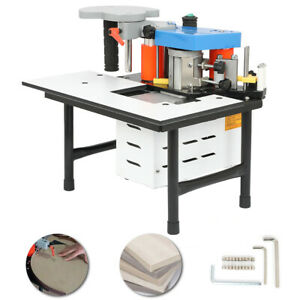 1100w Woodworking 80a 7 60mm Portable Edge Bander Banding Machine