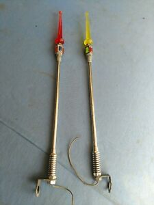 Vintage Light Up Fenders Guides With Multi Coloured Plastic Top