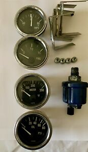 Detomaso Pantera 71 89 Parts Vdo Gauges