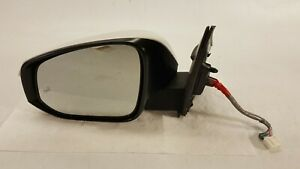 2016 2018 Toyota Rav4 Front Driver Left Side Mirror 11 Wires W Camera Oem