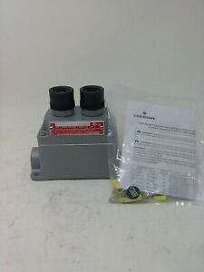 Appleton Push Button Switch Efdb175du2 01 20m 600vac Max Heavy Pilot Duty