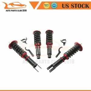 Coilovers Kit Shocks For 1990 1997 Honda Accord Adjustable Height Struts