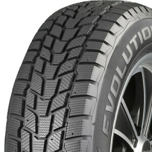 2 New 235 70r16 106t Cooper Evolution Winter 235 70 16 Tires