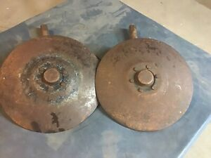 Farmall Tractor Cultivator Hilling Disc Jd Oliver Case Massey 2ea 1pair