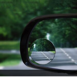 Rear Side View Blind Spot Mirror Universal Car Auto 360 Wide Angle Convex 1x