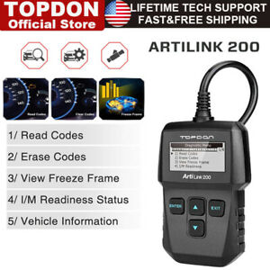 Obdii Scanner Car Diagnostic Auto Scan Tool Obd2 Code Reader Check Engine Light