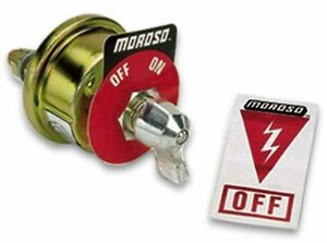 Moroso 74100 Battery Disconnect Switch 20 Amp Continuous 125 Amps Surge