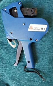 Mighty One Blue Avery Dennison M 1 Price Label Maker Gun Marker With Box