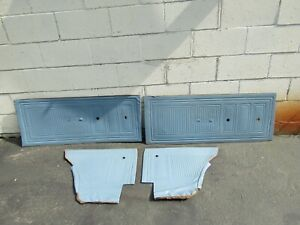 65 Ford Falcon Door Panels Panel Set Front Rear Left Right Blue
