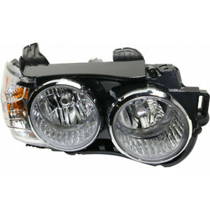 For Chevy Sonic Sedan Ls lt rs Model Headlight 2012 2015 Passenger Side W chrome