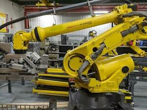 Fanuc R2000ic 125l 6 Axis Cnc Robot With R30ib Controller Vision 125kg X 3 100