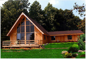 Blueridge Chalet 28 X 36 Customizable Shell Kit Home Delivered Ready To Build