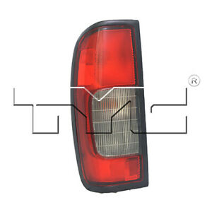 Fits 2002 2004 Nissan Frontier Tail Light Assembly Driver Side capa
