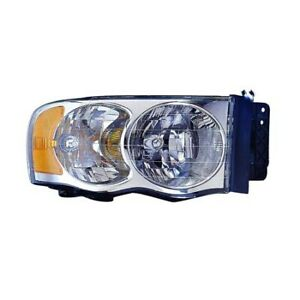 Fits 2004 2005 Dodge Ram 2500 Head Light Assembly Passenger Side capa