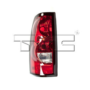 Fits 2004 2006 Chevrolet Silverado 1500 Tail Light Driver Side Capa