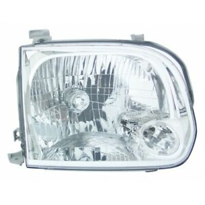 Fits 2005 2006 2007 Toyota Sequoia Head Light Assembly Passenger Side To2503158