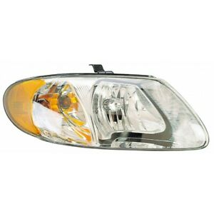 Fits 2001 2007 Chrysler Voyager Head Light Assembly Passenger Side Ch2503129
