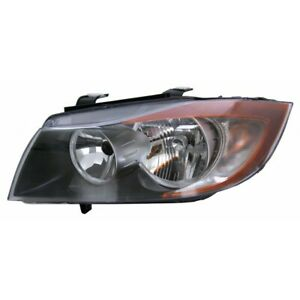 Fits 2006 Bmw 330xi Head Light Assembly Driver Side Bm2502133