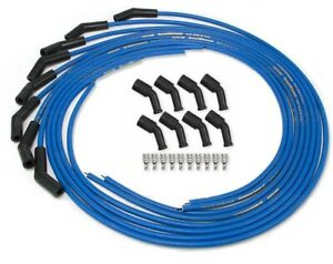 Taylor Spark Plug Wires Blue Cut To Length 135 Boot Chevy Ls Coil Pack 5 3l 6 0