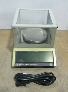 Mettler Pm480 Deltarange Digital Analytical Laboratory Scale Tested